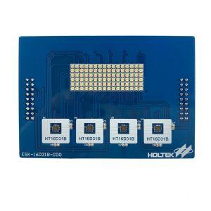 HT16D31B Evaluation Board (RGB LED) ESK-16D31B-C00