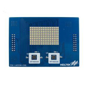 HT16D33A Evaluation Board (RGB LED) ESK-16D33A-C00