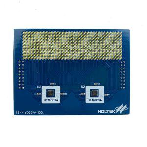 HT16D33A Evaluation Board (white LED) ESK-16D33A-M00