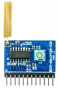 433MHz Parallel OOK Receiver Module BCM-68F2420-C01