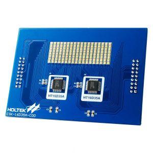 HT16D35A Evaluation Board (RGB LED) ESK-16D35A-C00