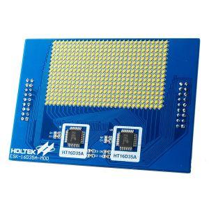 HT16D35A Evaluation Board (white LED) ESK-16D35A-M00