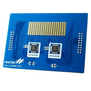 HT16D35B Evaluation Board (RGB LED) ESK-16D35B-C00