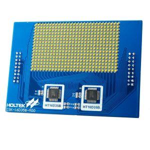 HT16D35B Evaluation Board (white LED) ESK-16D35B-M00