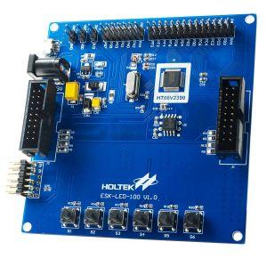 Holtek LED Workshop MCU Board ESK-LED-100