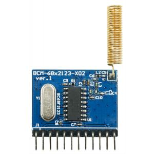 433MHz Parallel OOK Transmitter Module BCM-68F2123-X02